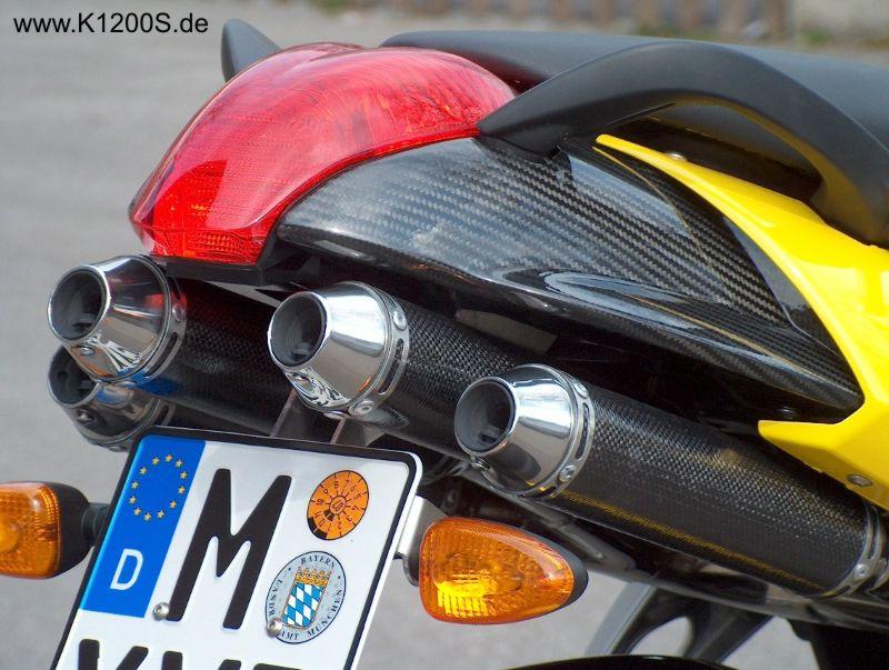 Schnitzer Auspuff Bmw K1200s
