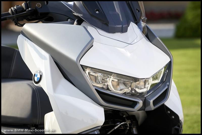 Leuchteinheit der BMW C 400 GT