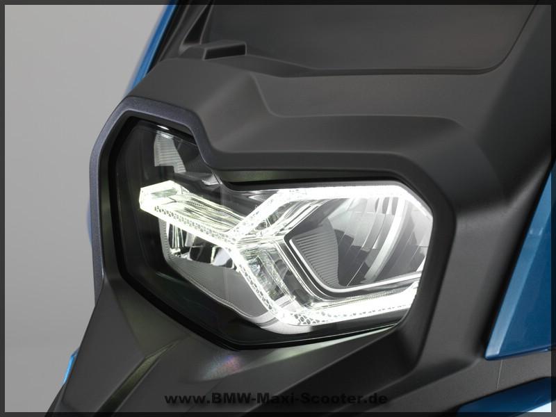 Die Lampe des BMW C 400 X