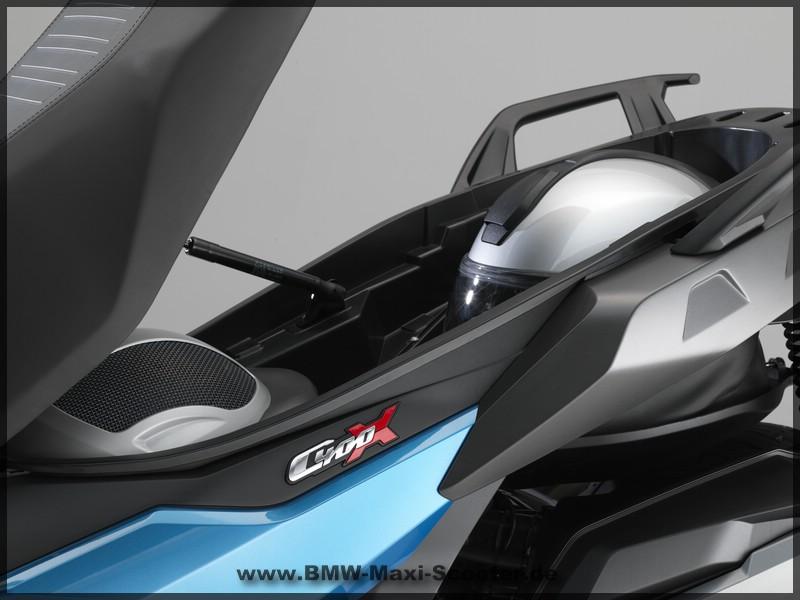 BMW C 400 X - Sitzbank offen