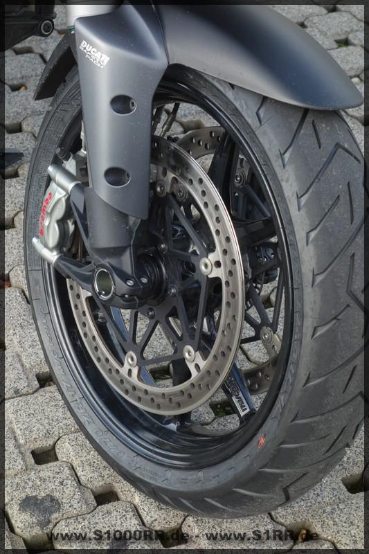 Ducati Multistrada 1200 - Fahrbereicht