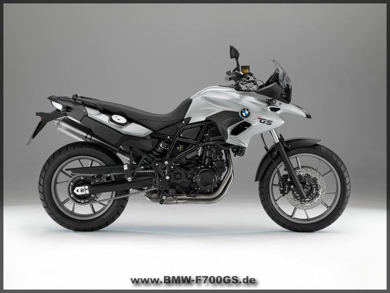 BMW F 700 GS - rechte Seite - Silber