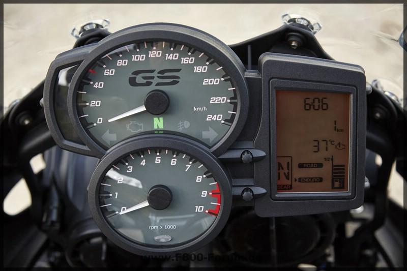 F 700 GS- 2016 - Cockpit