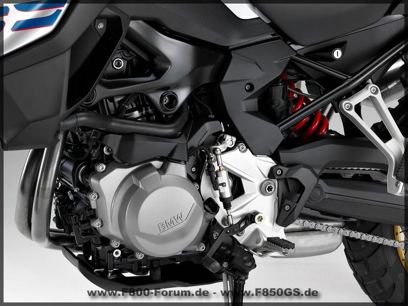 Antrieb der BMW F 850 GS