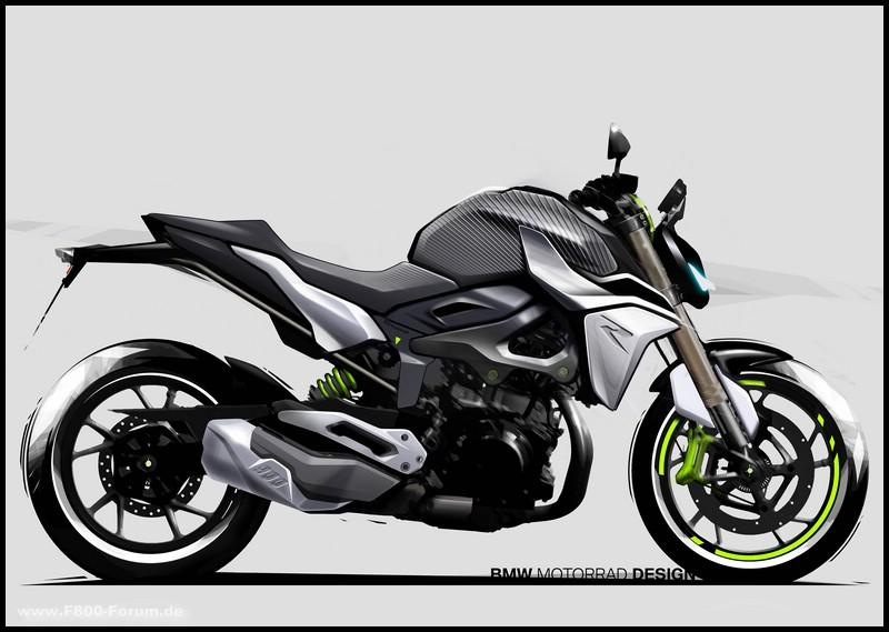 Designentwurf F 900 R