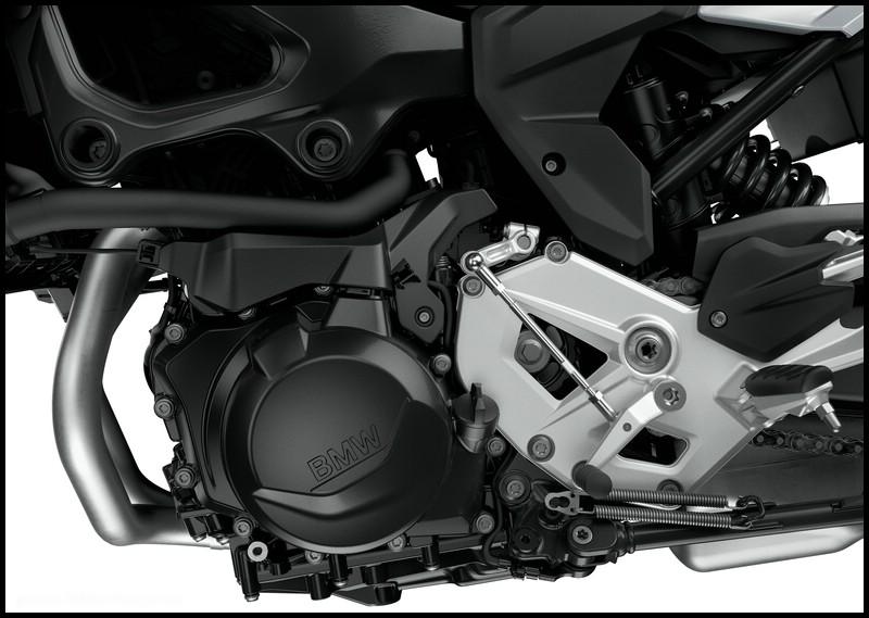 Motor in der F 900 R