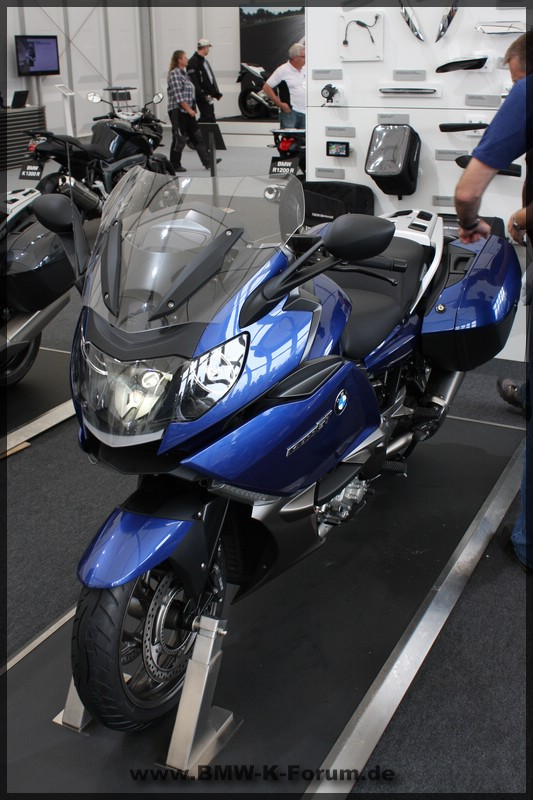 K 1600 GT in Montegoblau metallic