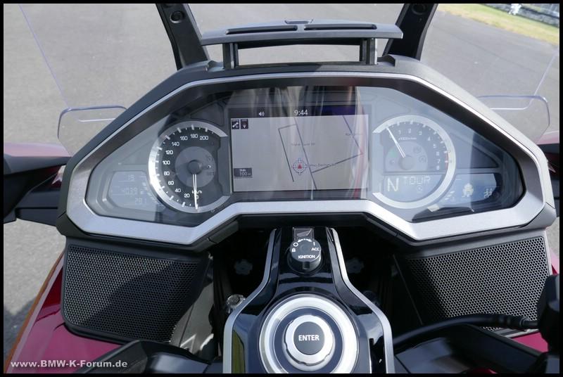 Honda Gold Wing 2018 - Cockpit