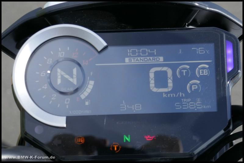 Honda CB 1000 R+ Cockpit