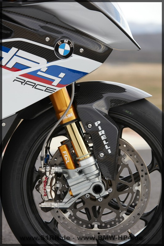 BMW HP4 Race - Gabel