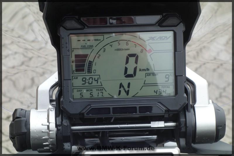 Honda X-ADV - Cockpit