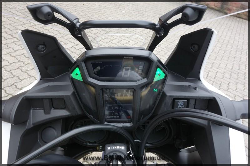 Honda CRF1000L - Africa Twin - Cockpit