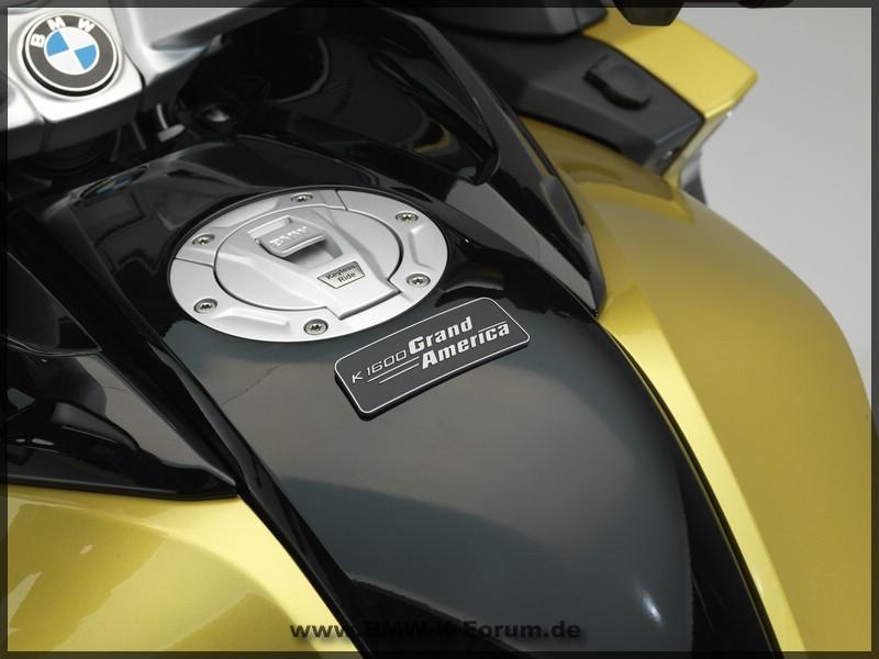 Plakette BMW K 1600 Grand America