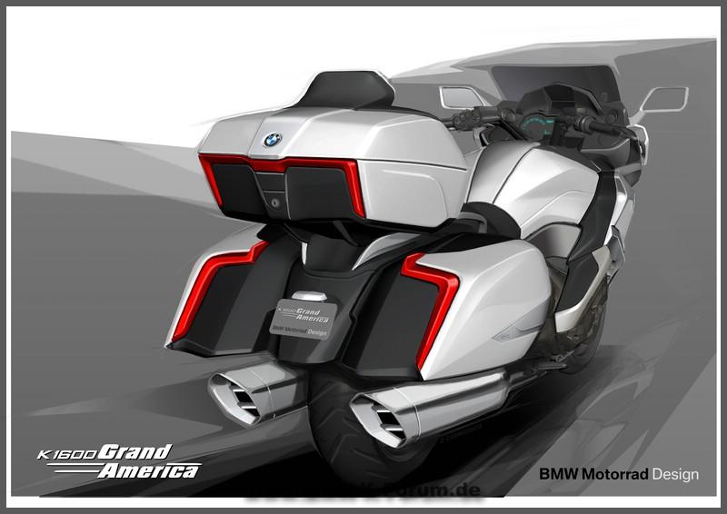 Designstudie K 1600 Grand America