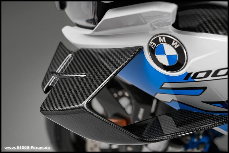 """""""Flügel"""" der BMW M 1000 RR"""