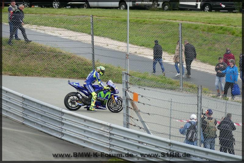 Rossi VR46 am Sachsenring 2017 MotoGP