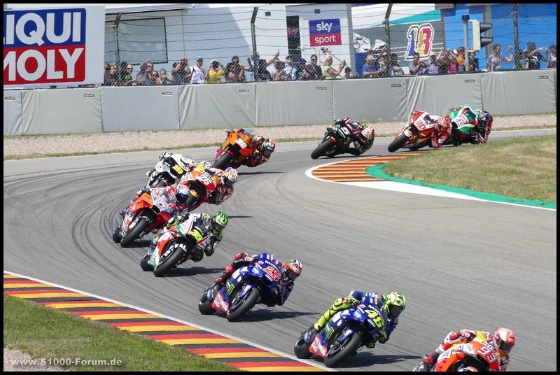 Fahraufnahme - MotoGP - Kurve 7