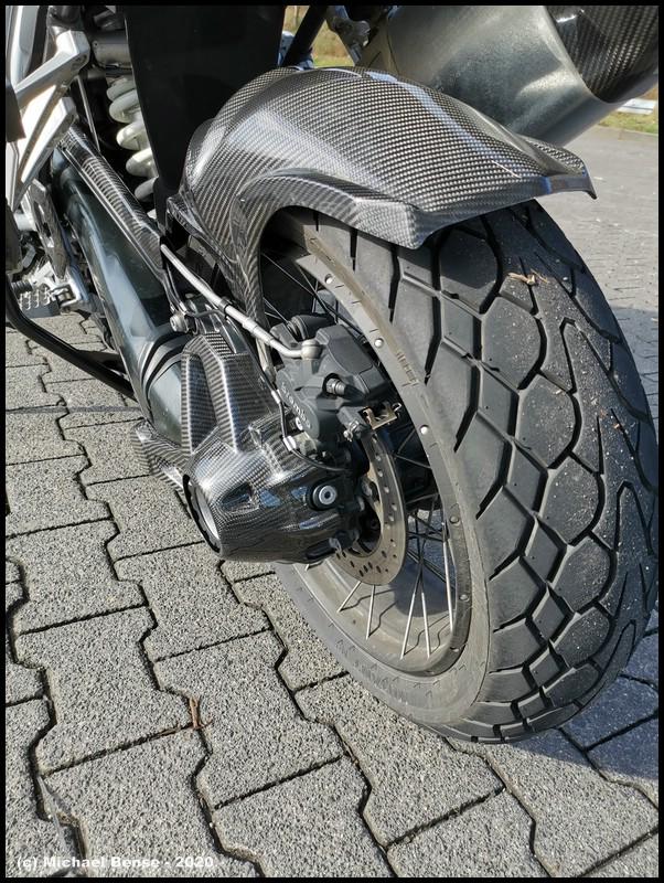 Dunlop Mutant nach Fahrt im Trockenen