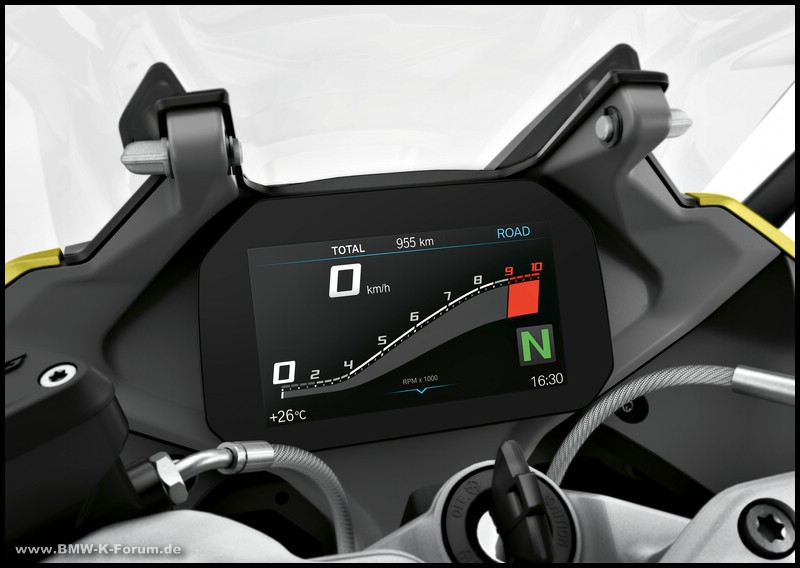 Cockpit der R 1250 RS