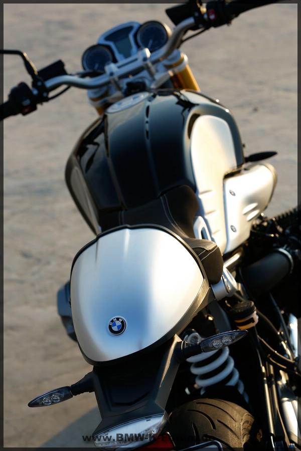 BMW - R NineT - Hinten - großes Bild