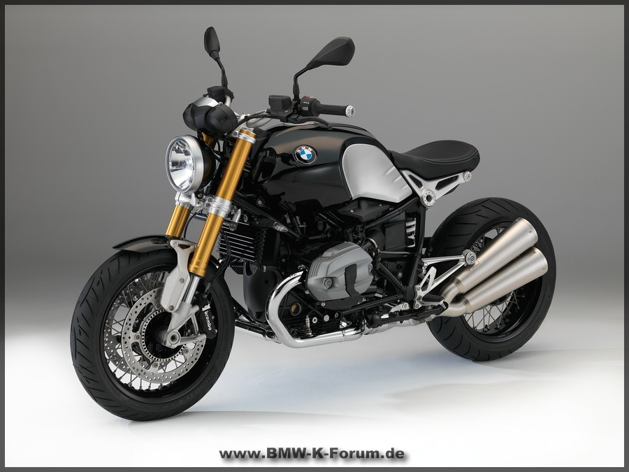 BMW - R NineT - Linke Seite - Details