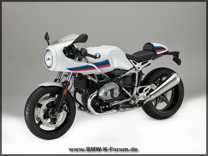 R nine T- Racer - Seite