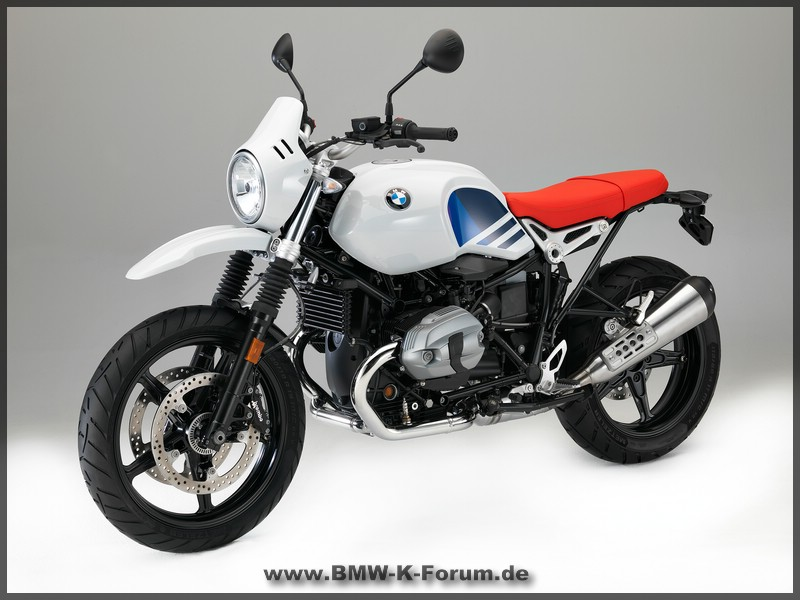 BMW R nine T Urban G/S von links vorne