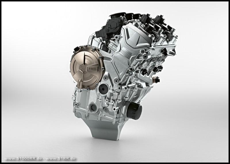 Motor der BMW S 1000 RR ab Modelljahr 2019