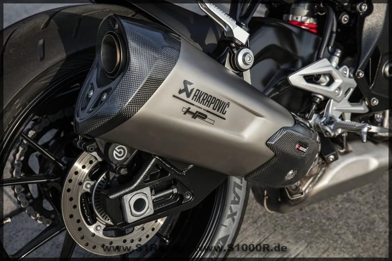 S 1000 r - 2017 - Auspuff