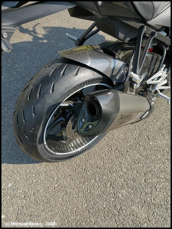 Michelin Power GP - Neu hinten auf S 1000 R