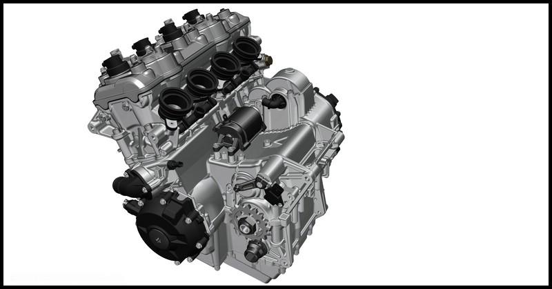Motor der S 1000 XR - K69