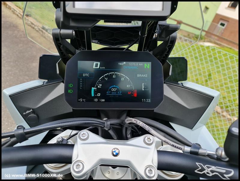 Cockpit - Ansicht Sport - S 1000 XR (K69)