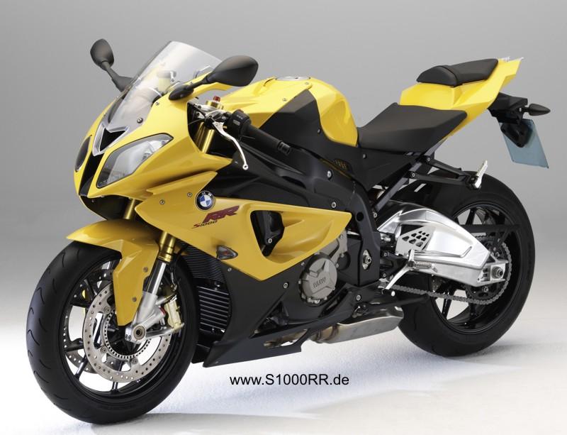 S 1000 RR in Sonnengelb metalic