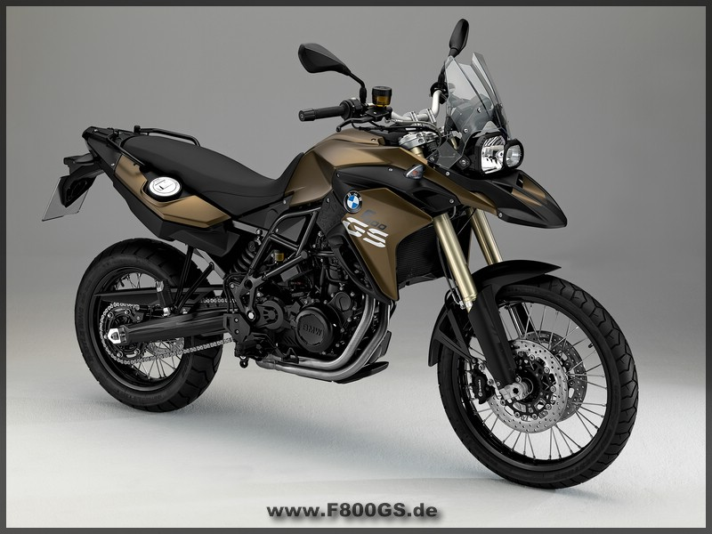 BMW - F 800 GS - Seite