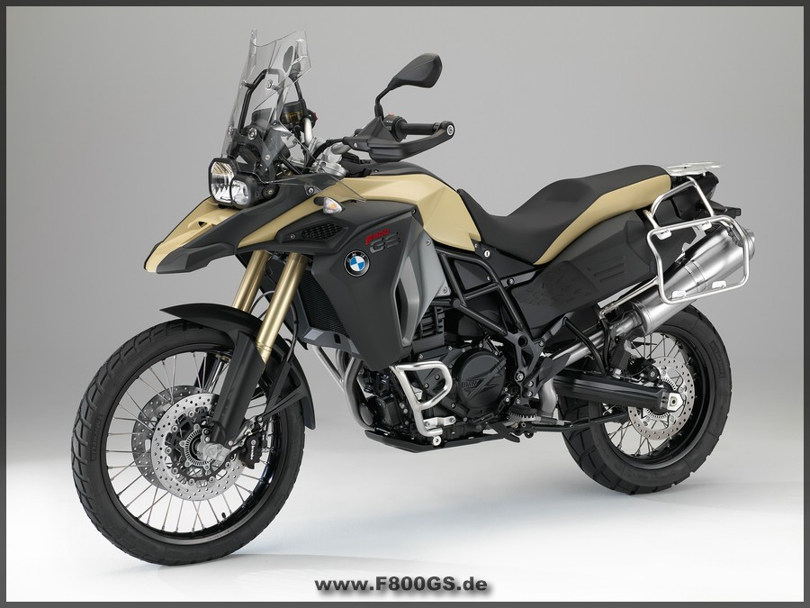 F800 GS Adventure - Linke Seite