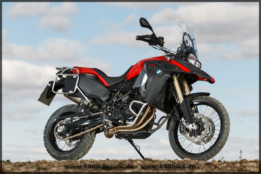 F800 GS Adventure - Rot