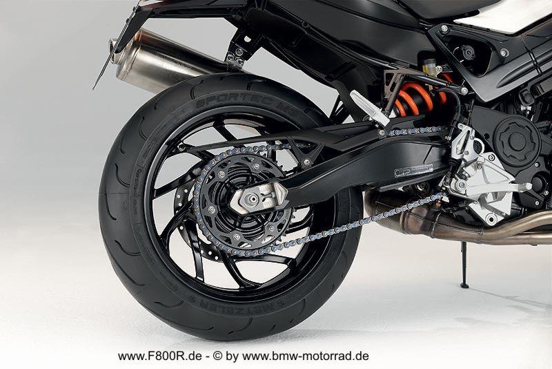 Heckbereich - F 800 R - BMW