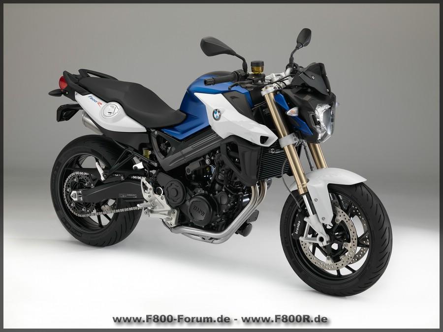 BMW F 800 R - Seite