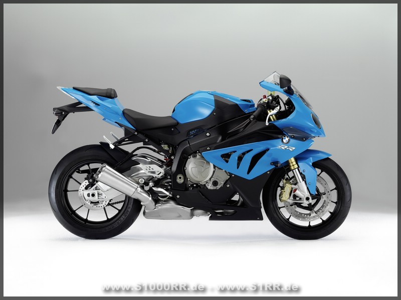 S 1000 RR In Bluefire Uni