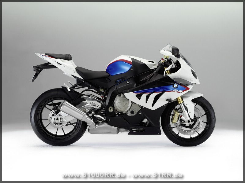S 1000 RR in den Motorsportfarben
