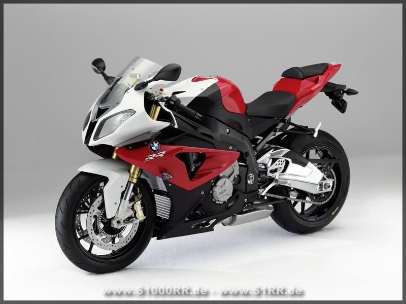 S 1000 RR in Racing Red und Alpinweiss