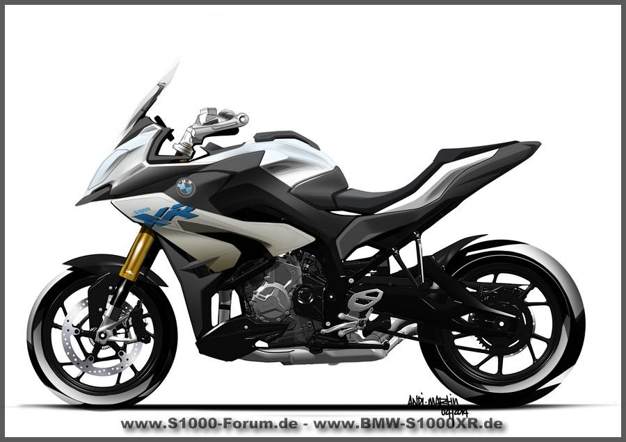 S1000XR design