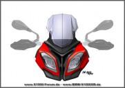 S1000XR vorne stilisiert